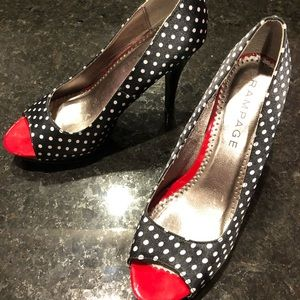 Rampage Rockabilly pumps
